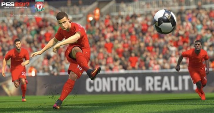 Coutinho super skill for LFC with PES 2017 exclusive