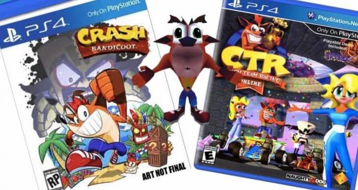 Crash Bandicoot PS4 release date in 2015 demanded