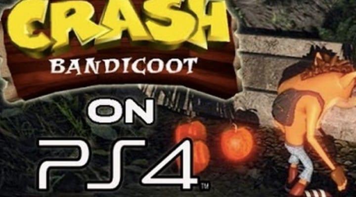 Crash Bandicoot PS4 hopes with PS1 emulation
