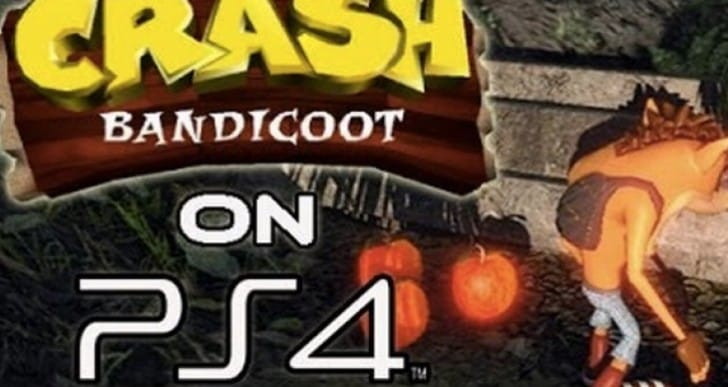Crash Bandicoot PS4 hopes with PS1 emulation