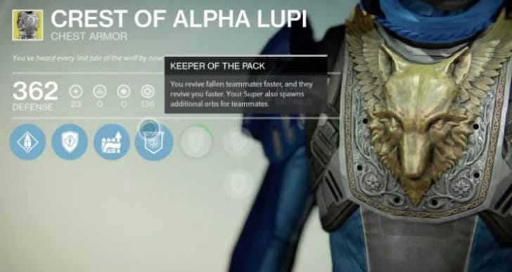 Crest of Alpha Lupi Hunter review, great for Trials