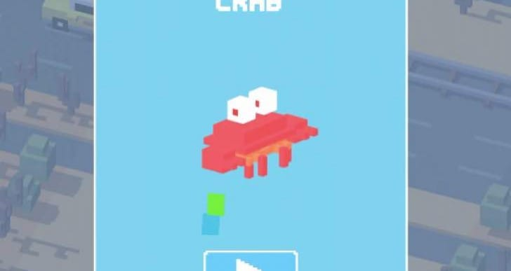 Crossy Road Crab unlock needs secret method