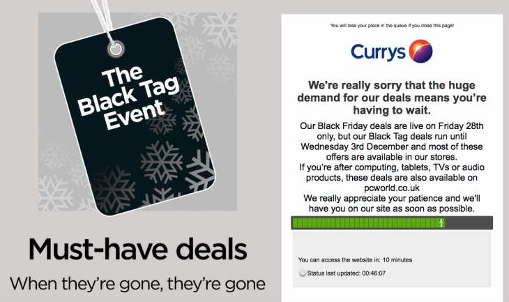 currys-website-down-queue