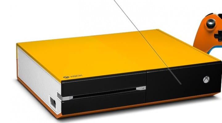 Custom Xbox One console by ColorWare