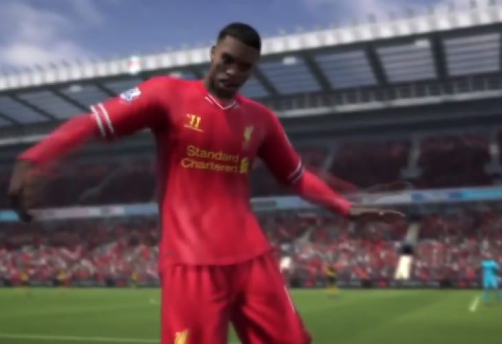 FIFA 14 celebrations with Daniel Sturridge dance