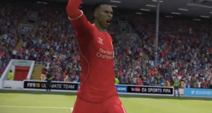 Daniel Sturridge player face on FIFA 15 questionable