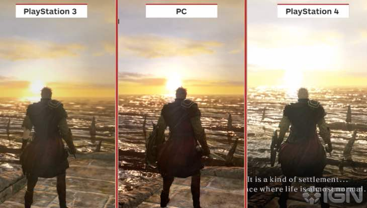 Us Auto Sales >> Dark Souls 2 PS4 Vs PC graphics without DirectX 11 ...