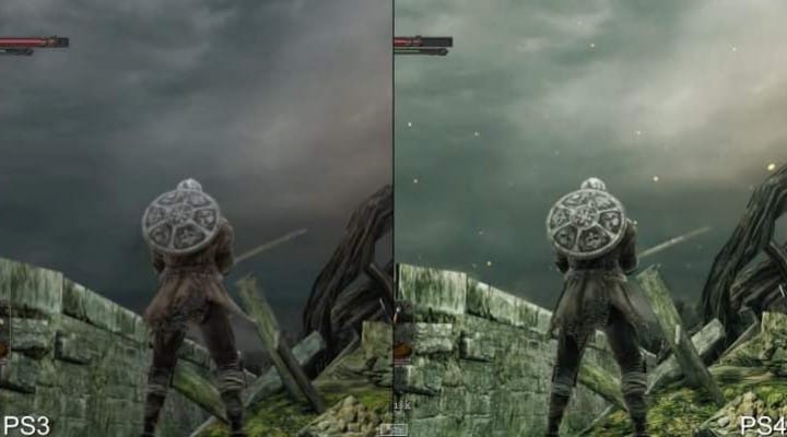 New Dark Souls 2 PS4 Vs PS3 analysis