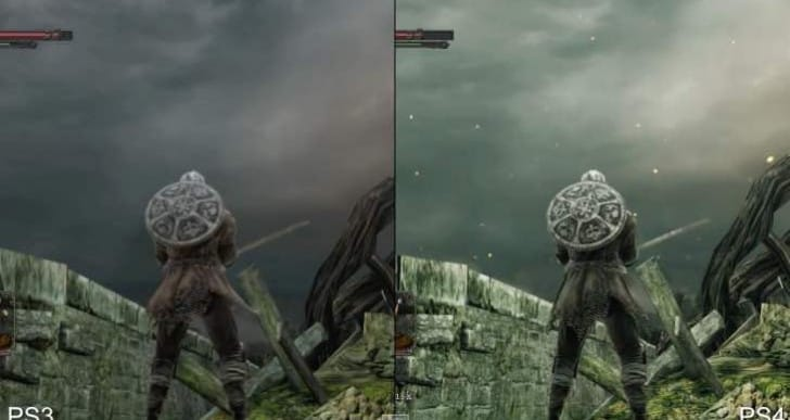 New Dark Souls 2 PS4 Vs PS3 analysis
