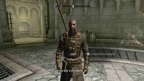 Skyrim Dawnguard: 8-minute hands-on