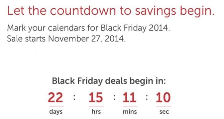 Dell announces countdown to 2014 Thanksgiving sales