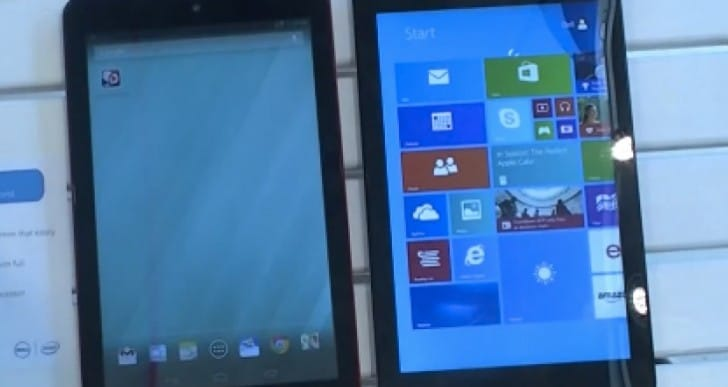 Dell 8″ Venue Pro tablet vs the competition