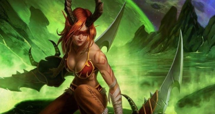WoW Demon Hunter early gameplay before release