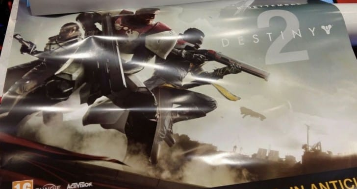 Destiny 2 release date leaked with PS4 exclusives