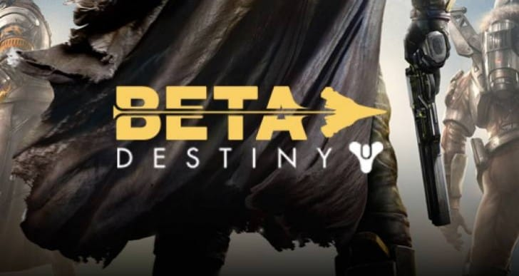 Destiny beta live stream for early access