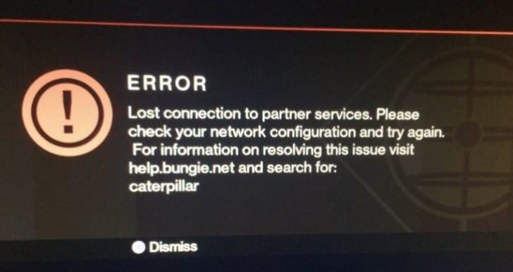 Destiny server fix for Caterpillar, Cattle errors