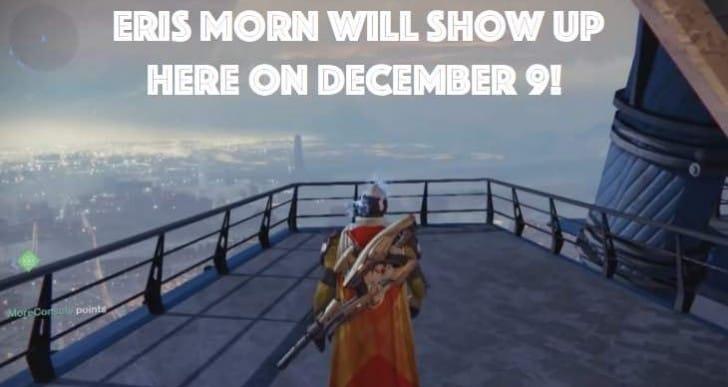 Destiny Eris Morn location excitement for December 9