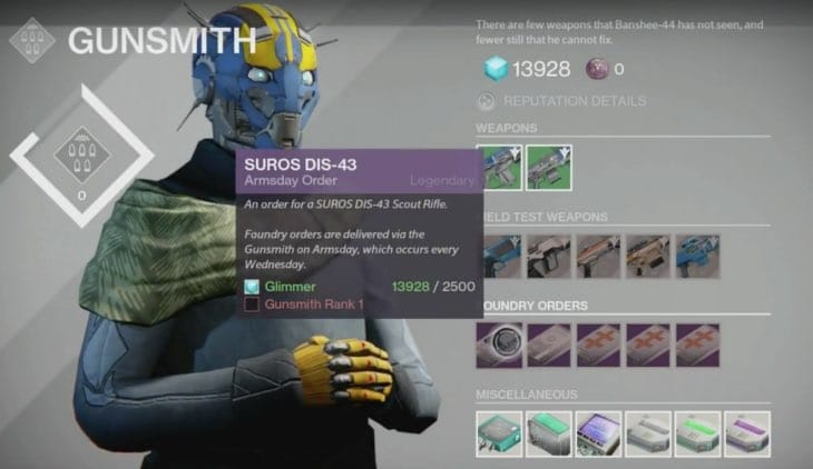 destiny-gunsmith-orders