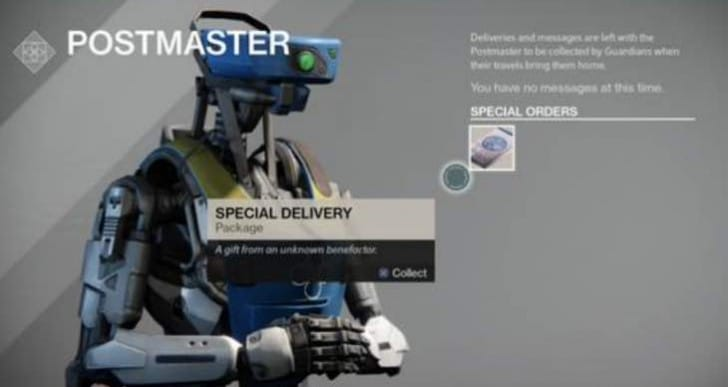 Best Destiny Postmaster special delivery weapon