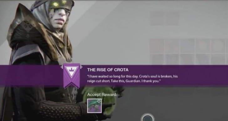 Unlock Destiny Murmur Legendary easy from Rise of Crota