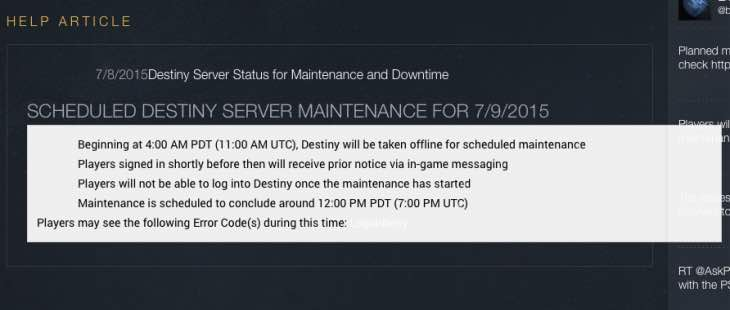 destiny-servers-down-july-9