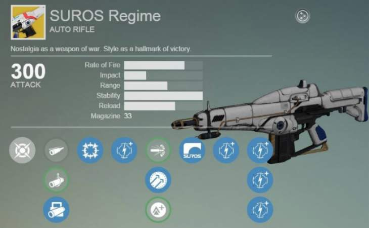 Destiny xur exotic armor items with suros regime product reviews