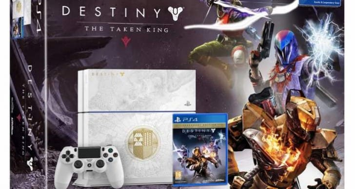 Destiny The Taken King PS4 bundle US pre-order MIA