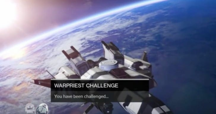 Destiny Warpriest Challenge mode loot for 320 weapon