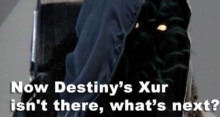 Destiny Xur gone on Sunday, Dec 12 location next