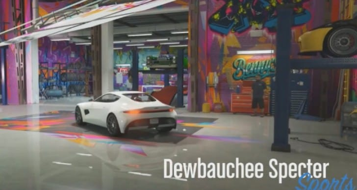 GTA Online Dewbauchee Specter custom before vs after