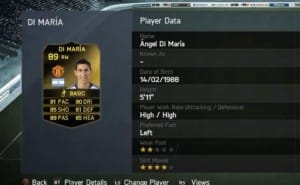 Amazing Di Maria In-Form for MUFC on FUT