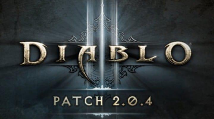 Diablo 3 2.0.4 patch notes