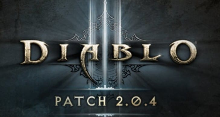 Diablo 3 2.0.4 patch notes