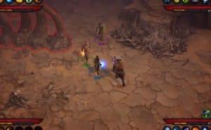 Diablo 3 PS3 multiplayer gameplay shows co-op