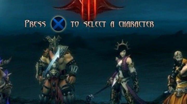 Diablo 3 PS3 built for the controller, not PC port