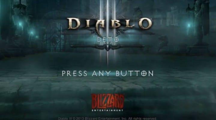 Diablo 3 PS4 gameplay in 1080p, 60FPS