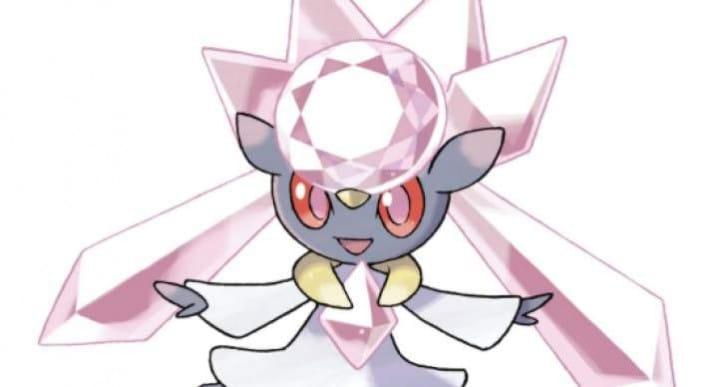 Pokemon Mega Diancie event code for ORAS