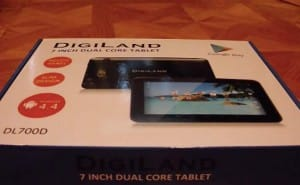 Digiland 7-inch Dual Core DL700D(C) tablet with specs warning
