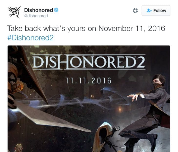 dishonored-2-official-release-date
