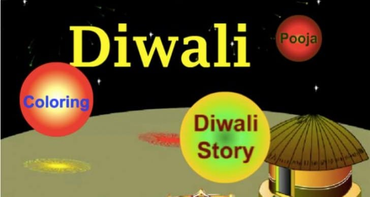 Diwali Festival 2014 app for happy kids