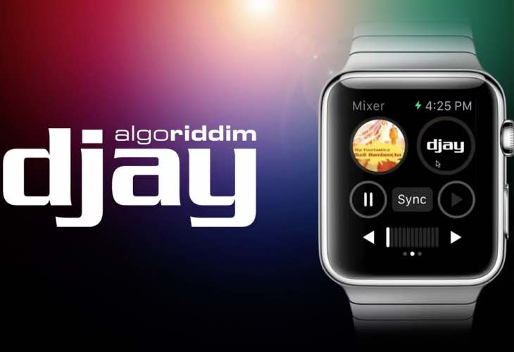 djay for Apple Watch demo displays size concern