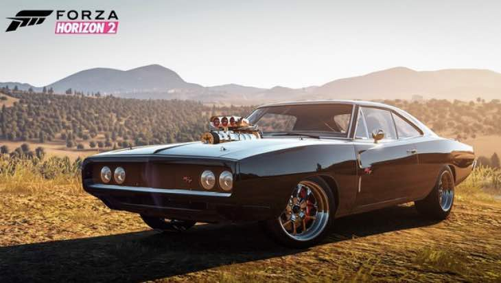 Forza Horizon 2 Furious 7 DLC With Dodge Charger Build