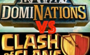 DomiNations Vs Clash of Clans for best strategy game