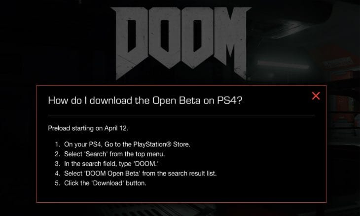 doom-open-beta-ps4-xbox-one-pc