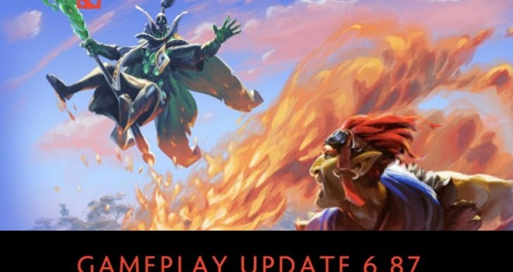 Dota 2 6.87 patch notes with list of new changes