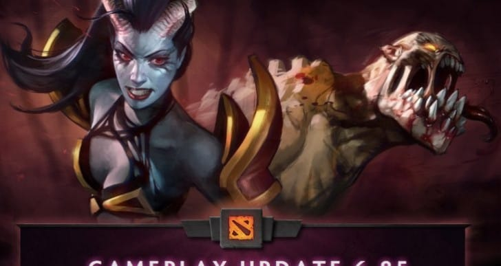 Dota 2 6.85 update changelog with full patch notes