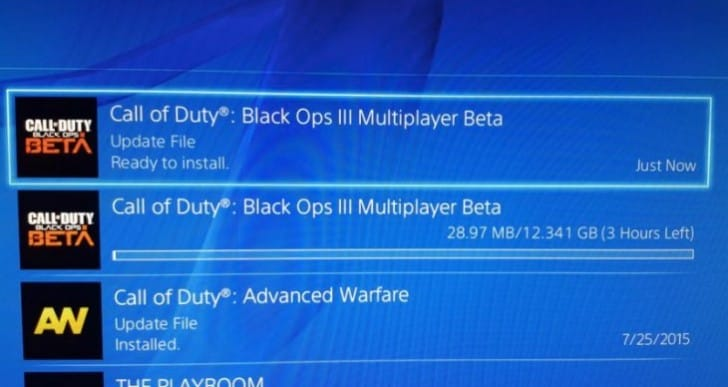 Download Black Ops 3 beta early on PS Store