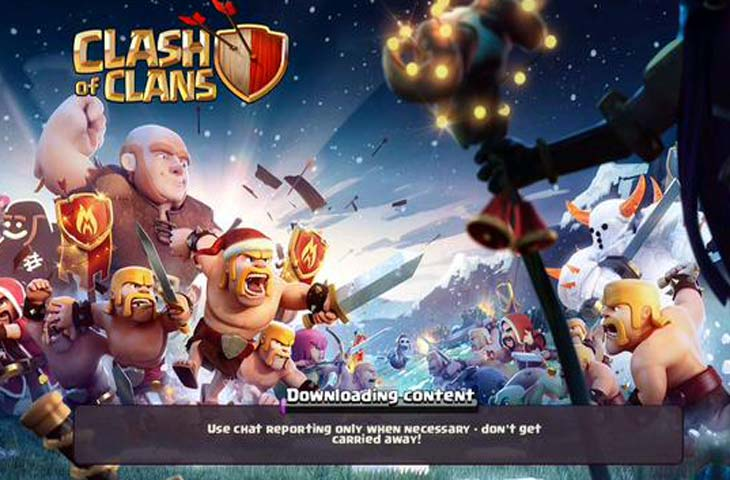 Clash of Clans stuck at loading screen, fix for problem ...