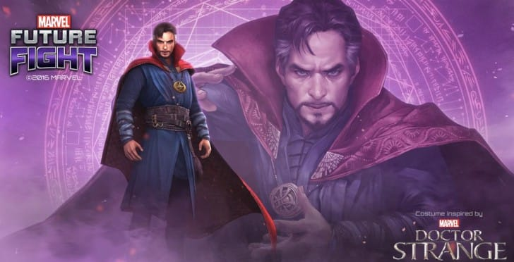 Dr Strange release date for Marvel Future Fight