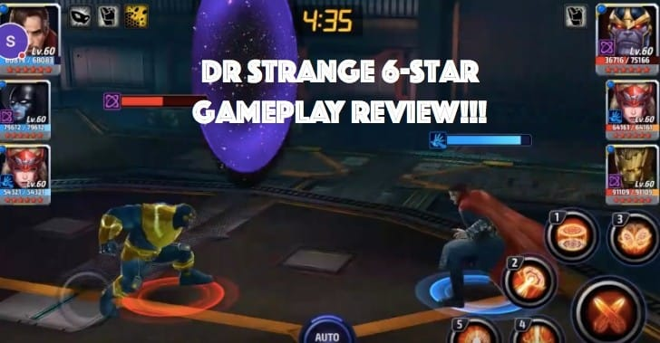 Marvel Future Fight Dr Strange 6-star gameplay review